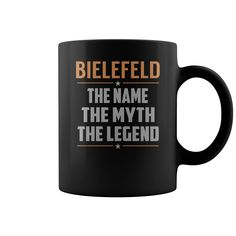 BIELEFELD The Name The Myth The Legend Name Mugs #Bielefeld
