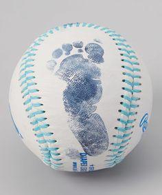 Another great find on #zulily! Light Blue Stitch Customizable Baseball Kit #zulilyfinds