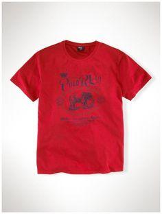 ac180db561843 polo de marque pas cher - Polo Ralph Lauren Classic Fit Col Rond T-Shirt