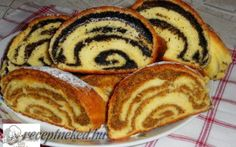 Érdekel a receptje? Hungarian Desserts, Hungarian Recipes, Strudel, Sweets Recipes, Cooking Recipes, Bread Dough Recipe, Baking And Pastry, Pastry Cake, Sweet And Salty