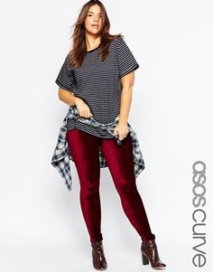 Shop for women's plus size clothing with ASOS. Discover plus size fashion and shop ASOS Curve for the latest styles for curvy women. Plus Size Fashion For Women, Plus Size Womens Clothing, Plus Size Outfits, Clothes For Women, Asos Curve, Treggings, Plus Size Summer, Models, Curves