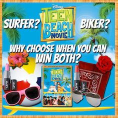 Disney's Teen Beach Movie DVD Review & Giveaway (US & Can) - Simply Stacie ~ Ends 8/15