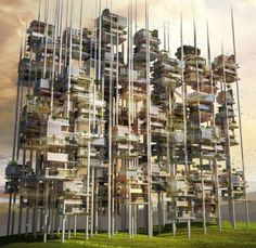 Architecture and Design Magazine for the Century. Organizer of the Annual Skyscraper Architectural Competition. Module Architecture, Architecture Magazines, Green Architecture, Architecture Student, Futuristic Architecture, Amazing Architecture, Architecture Design, Vertical City, Seed Of Life
