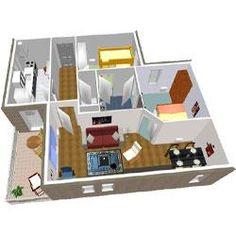 Modèle Et Plan De Maison Volume Etage Avec Ou Sans Garage Par Le - Modele de maison interieur