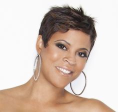 22 Easy Short Hairstyles for African American Women | PoPular Haircuts