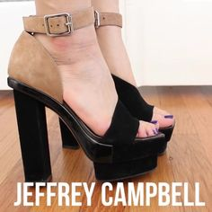 Jeffrey Campbell duals As seen on Jenn Im from clothes encounters! Great statement heels, only worn once for a shoot. Jeffrey Campbell Shoes