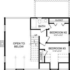 Mountain Laurel - Log Home Plan   Southland Log Homes