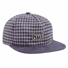 A true street skating styling, the new Huf 1993 Plaid Snapback Cap is a low-profile snapback made of premium cotton material with an unstructured, 5-panel construction. Skateboard Fashion, Diamond Supply, Plaid Design, Lifestyle Clothing, Huf, Thrasher, Snapback Cap, Hats For Men, Caps Hats