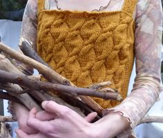Knitted bodice by InnerWild