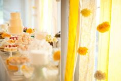 We all love simple easy diy projects that add major impact to a party... here's a great tutorial by martha stewart. you could use any color..go with any size.. and make a beautiful custom deta...