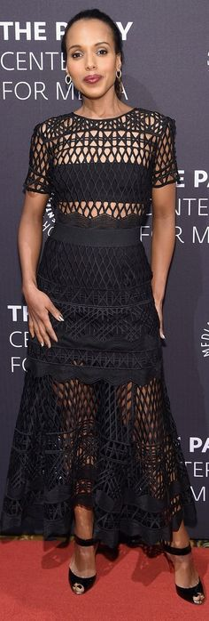 Kerry Washington in Self-Portrait - The Paley Center For Media Hosts A Tribute To African-American Achievements In Television