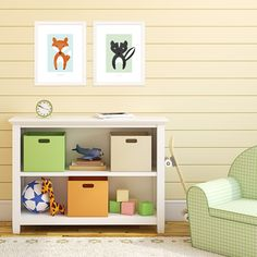 These little critters make the perfect artwork for a kids' bedroom or playroom! #decor #kidsIdeas