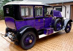 Purple Rolls-Royce of Tsar Nicholas II.