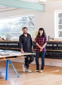 Rodney Eggleston and Anne-Laure Cavigneaux of March Studio in their North Melbourne office. Photo – Sean Fennessy. The North Melbourne offices of March Studio. Photo –Sean Fennessy. Rodney shows us some current projects. Photo –Sean Fennessy. The North Melbourne offices ofMarch Studio. Photo –Sean Fennessy. Rodney Eggleston & Anne-Laure Cavigneaux are partners in life and …