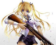 Triela - Gunslinger Girl & Anime Background Wallpapers on Desktop ...