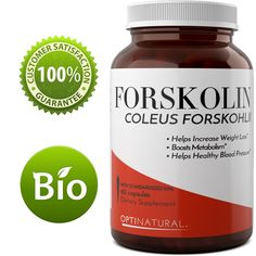 Pure Forskolin Extract Dietary Supplement for Weight Loss - Slimming Capsules for Women and Men - Herbal Fat Burner - 100% Natural and Potent Ingredients - 60 Capsules - U.S. Made By Opti Natural -- Insider's special review that you can't miss. Read more :  : Garcinia cambogia
