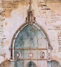Architectural Drawing of the Dome