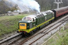 The mighty Deltic - always prefer them in the BR green.