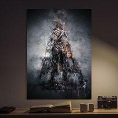 Metal Poster Bloodborne Games