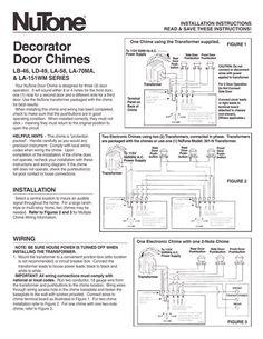 Doorbell Wiring Diagrams | Doorbell | Pinterest | Home