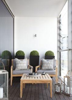 Arredo terrazzi: 30 idee di arredamento per il vostro outdoor! Alcuni idee perfette per un terrazzo dalle dimensioni ridotte!
