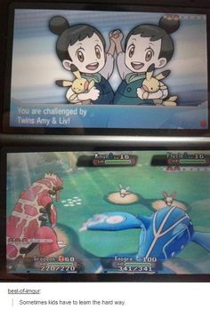 you have to learn to be the best pokemon trainer!