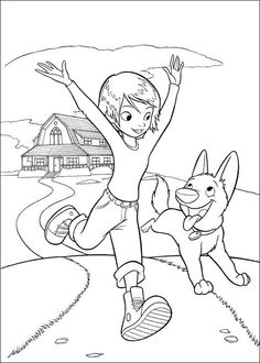 Bolt Coloring Pages 47