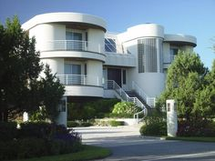 Art Moderne House Style - Streamline Style