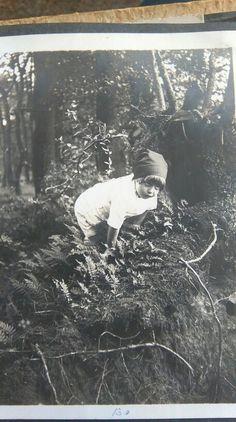 Oma verkleed als schoffie 1929