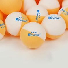 White Official Balls of The World Series of Beer Pong BPONG Beer Pong Balls 12 Balls Bulk