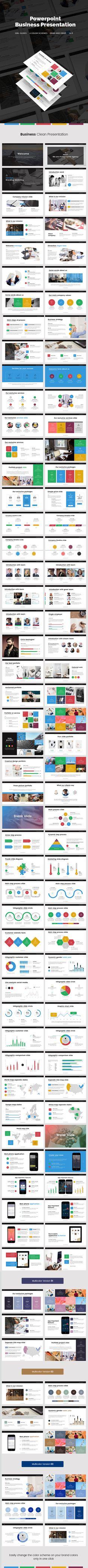 Business Presentation — Powerpoint PPT #presentation #infographics • Download ➝ https://graphicriver.net/item/business-presentation/19428585?ref=pxcr