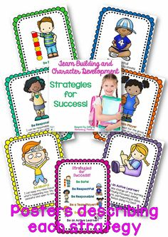 Strategies for Success! This resource will help guide the children to have a successful school year by giving the strategies for success.