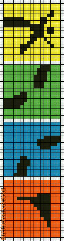 Geocaching pattern