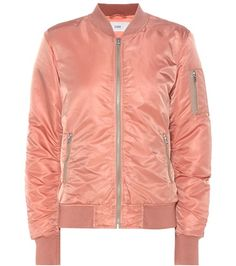 Buy it now. Bomber Jacket. Blush Bomber Jacket By Closed , chaquetabomber, bómber, bombers, elbowdiamond, baseball. Hot pink CLOSED bomber jacket for woman.