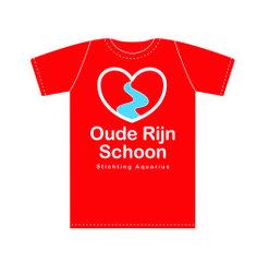 ontwerp t-shirt Oude Rijn Schoon