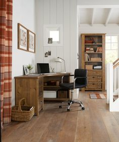 Buy Hartford® Solid Pine Corner Desk from the Next UK online shop £350