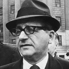 Born in Chicago, Illinois on May 24, 1908 to Sicilian immigrant parents, Sam Giancana started out as a wheelman for Al Capone and worked his way to the top of Chicago's illegal gambling operations. He had many ties with politicians, including the Kennedys, and was called to testify regarding Mafia involvement in a CIA plot to assassinate Castro. Giancana himself was killed before giving testimony.