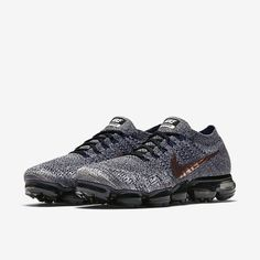 low priced 0d5ab bb167 Runs Buy Offer Cheap Sale Nike Air VaporMax 2018 Flyknit Gray Gold Tick  Women Men Sneakers,First Hand Factory Direct Sale.
