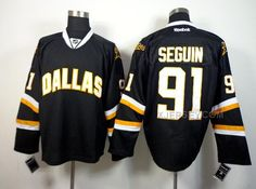 http://www.xjersey.com/stars-91-seguin-black-jerseys.html STARS 91 SEGUIN BLACK JERSEYS Only $50.00 , Free Shipping!