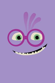 Monsters University by Lara Brizuela Garcia, via Behance