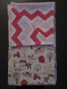 Receiving Blanket by JustaDab on Etsy, $15.00