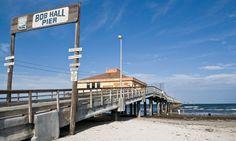 Bob Hall Pier and Padre Balli Park Texas Vacation Spots, Vacation Trips, Corpus Christi Beach, Mustang Island, City By The Sea, I Love The Beach, Texas Travel, Bob, Best Vacations