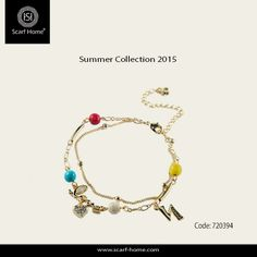 Come!!!  And you will fall in love with our accessories. Check our awesome bracelet  From Scarf Home summer collection 2015  You can find it at our branches. Cairo Festival City Mall  City Stars Mall 35 Gezieret El Arab من مجموعة سكارف هوم .. اكسسوارات صيف 2015 . زوري أقرب فرع لينا في القاهرة أو الأسكندرية .. لمزيد من المعلومات اتصلي بينا على 01000209916  Follow us on instagram.com/scarf_home  #fashion #color #Accessories #summer #collection #bracelet