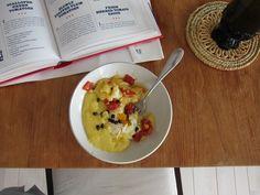 polenta with egg