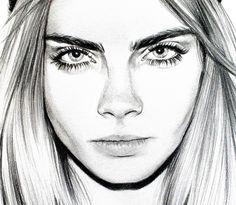 Portrait de Cara Delevingne pour Paulette magazine n°11 (septembre/octobre 2013)