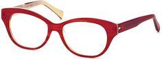 Bevel #Eyewear in Red