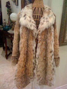 Lynx Fur Coats with spots