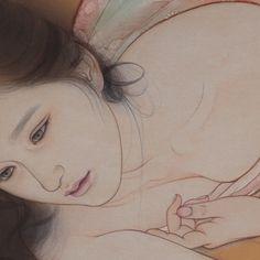 Japanese Art Prints, Grace Art, Japanese Modern, Best Kisses, Art Reference Poses, Silk Painting, Erotic Art, Asian Art, Character Art