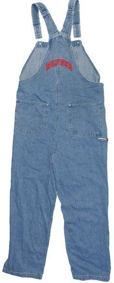 ffe693d72f Tommy Hilfiger Women s Overalls Jeans 1X Vintage Carpenter Flag Denim  tommy   tommyhilfiger  hilfiger