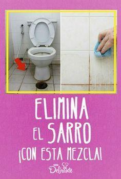 Elimina El Sarro De Los Mosaicos Con Esta Mezcla Como Limpiar Vidrios Como Limpiar El Inodoro Trucos De Limpieza